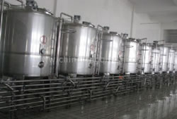 Double Layer Vertical Mixing Storage Tank